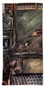 Steampunk - Machine - All The Bells And Whistles  Bath Towel