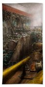 Steampunk - War - We Are Ready Bath Towel