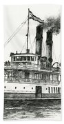 Steamship Tacoma Bath Towel