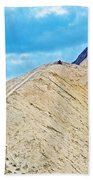 Steep Trail To Manly Beacon From Golden Canyon In Death Valley National Park-california  Bath Towel