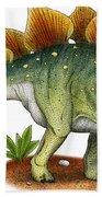 Stegosaurus Bath Towel