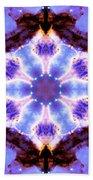 Stellar Spiral Eagle Nebula IIi Bath Towel