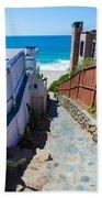 Aliso Creek Beach Access Bath Towel