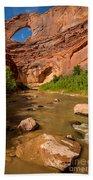 Stevens Arch - Escalante River - Utah Hand Towel