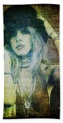 Stevie Nicks - Bohemian Bath Towel
