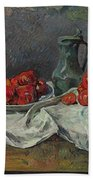 Still Life With Tomatoes Bath Towel