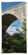 Stone Arch Of Pont St. Julien Bath Towel