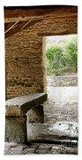 Stone Bench Bath Towel