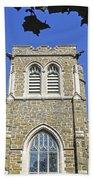 Stone Gothic Church Hand Towel