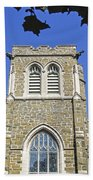 Stone Gothic Church Bath Towel