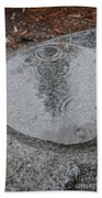 Stone Pool Angel Bath Towel