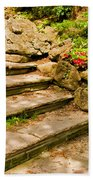 Stone Stairs Bath Towel