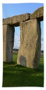 Stonehenge And Shadows Bath Towel
