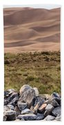 Stones And Sand Bath Towel