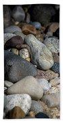Stones On Beach Bath Towel