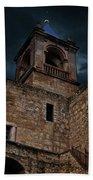 Storm Over The Alcazaba - Antequera Spain Bath Towel