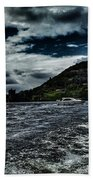 Stormy Loch Ness Bath Towel