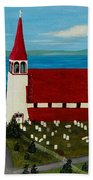 St.philip's Church 1999 Hand Towel