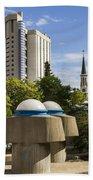 Strange Buenos Aires Architecture Bath Towel