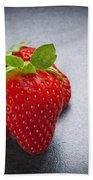 Strawberries Bath Towel