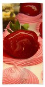 Strawberry Mousse Hand Towel