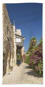 Street In Jaffa Tel Aviv Israel Bath Towel