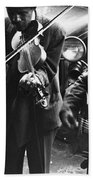 Street Musicians, 1935 Bath Towel