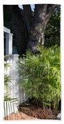 Street Scenes In Key West Bath Towel