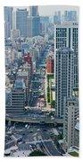 Street View Tokyo Bath Towel
