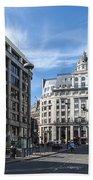Streets Of London Bath Towel