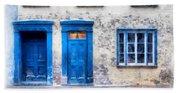 Streets Of Old Quebec 2 Bath Towel