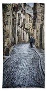 Streets Of Segovia Bath Towel