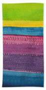 Stripes Original Painting Bath Towel