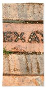 Stroll Down Texas Lane Bath Towel