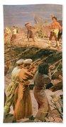 Study For The Execution Of The Twenty Six Baku Commissars Bath Towel
