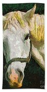 Study Of The Horse's Head Bath Towel