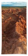 Stunning Red Rock Formations Bath Towel