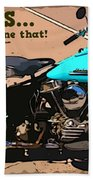 Sturgis Motorcycle Rally Bath Towel