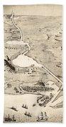 Suez Canal Hand Towel