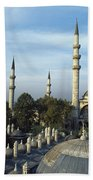 Suleymanhe Mosque, The Bizaar Quarter Bath Towel