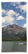 Summer At Pyramid Lake Bath Towel
