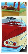Cruising The Beach Bath Towel