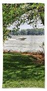 Summer At The Lake Bath Towel