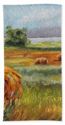 Summer Bales Bath Towel
