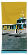 Summer Boat Ride 02 Walt Disney World Bath Towel