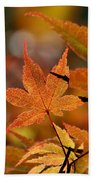 Summer Japanese Maple - 3 Bath Towel