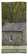 Summer Kitchen In Spring - Colonial Stone Bath Towel