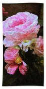 Summer Roses Bath Towel