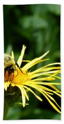 Summertime Bee Bath Towel