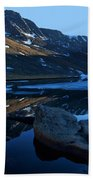 Summit Lake Calm Hand Towel